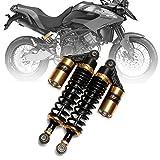 NEVERLAND 12.5''/ 320mm Motorcycle Air Shock Absorbers Universal fit for Honda Suzuki Yamaha Kawasaki ATV Go Kart Quad Dirt Sport Bike