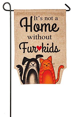 Fur Kids Garden Flag