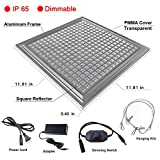 i-Venoya LED Grow Light, 150W Grow Light Equivalent for Hydroponics, Grow Lamp for Indoor Plants, IP65 Waterproof Dimmable Plant Light with Aluminum Housing for Horticultural Garden and Greenhouse.