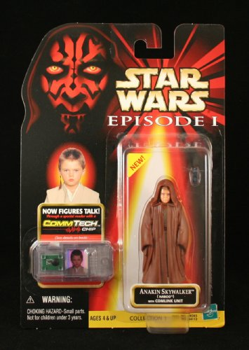 Star Wars: Episode 1 Anakin Skywalker (Naboo) Action Figure - Hasbro Star Wars Episode