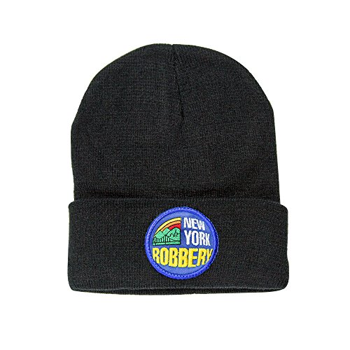 507cbea0cdb Galleon - 2OG Scamie New York Robbery Knit Beanie