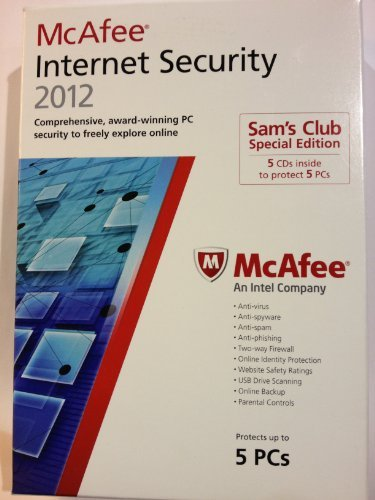 McAfee Internet Security 2012 Special