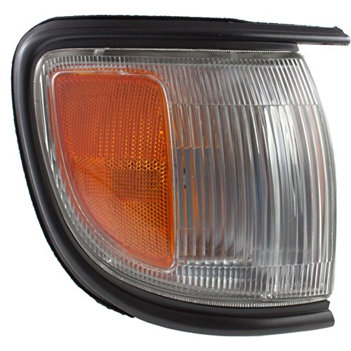 Corner Light compatible with Nissan Pathfinder 96-99 Corner Lamp RH Assembly W/Black Trim To 12-98 Right Side
