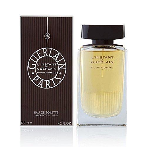 L'Instant De Guerlain Pour Homme by Guerlain for Men - 4.2 oz EDT Spray (Linstant Pour Guerlain De Homme)