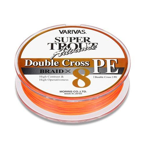 モーリス(MORRIS) ライン VAVRIVAS スーパートラウトアドバンスダブルクロス オレンジ 0.6号の商品画像