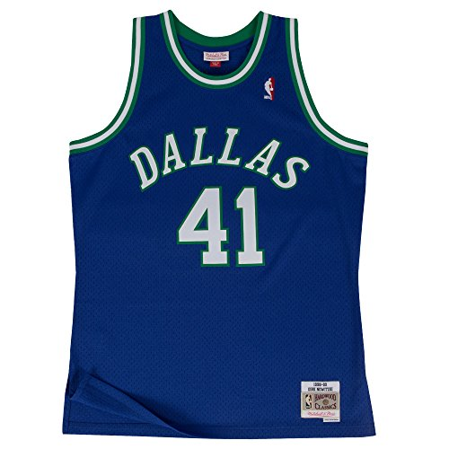 Dirk Nowitzki Dallas Mavericks Mitchell & Ness Swingman Jersey (X-Large) ()