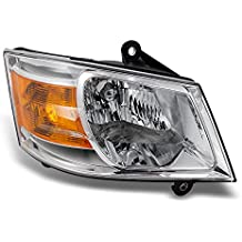 Dodge Grand Caravan Clear Passenger Right Side Front Headlight Head Lamp Front Light Replacement