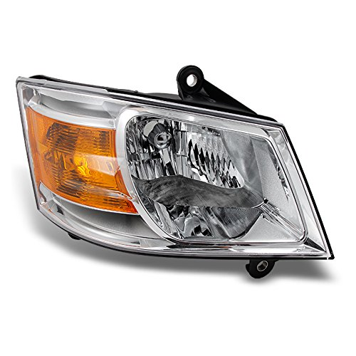 For Dodge Grand Caravan Clear Passenger Right Side Front Headlight Head Lamp Front Light Replacement