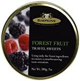 Simpkins Forest Fruit Travel Sweets x 3