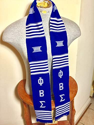 Phi Beta Sigma Sorority Graduation Kente Stole