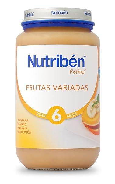 Nutribén Potito Frutas Variadas - 130 gr