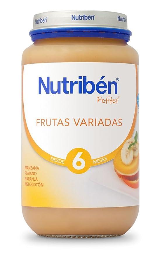 Nutribén Potito Frutas Variadas - 130 gr: Amazon.es: Alimentación y bebidas