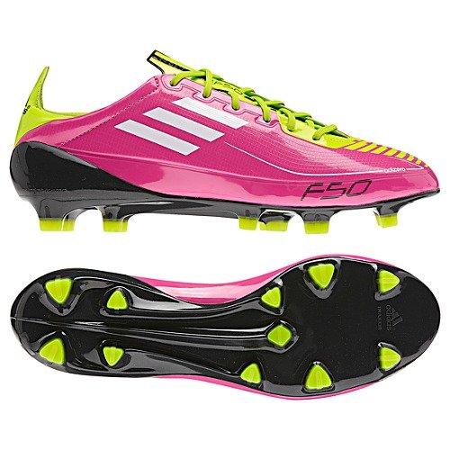 F50 Adizero TRX FG Women/Syntetic/Pink-White Neon/Size Womens 5