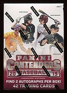 2015 Panini Baseball Contenders Blaster Box! 2 Autographs per Box! Aaron Judge Rookie Cards! Free Shipping!