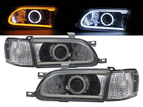 CABI L50 TERCEL 1995 1999 Fifth generation PRE-FACELIFT Sedan 4D CCFL Projector LED Bar Headlight Headlamp for TOYOTA - Headlight Headlamp Toyota Tercel