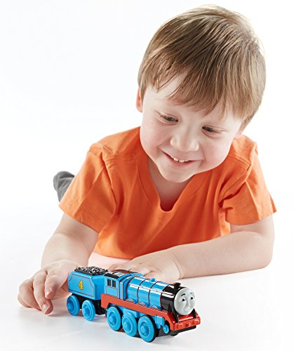 Gordon Big Express Engine - Fisher-Price Thomas & Friends Wooden Railway, Gordon Train - Battery Operated