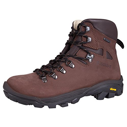 Mountain Warehouse Excalibur Womens Boots -Vibram All Season Hiking Shoes Brown 8 M US Women by Mountain Warehouse