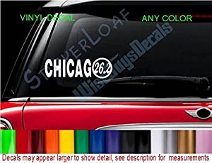 Amazoncom StickerLoaf Brand Runner CHICAGO Marathon Race - Window stickers for cars chicago