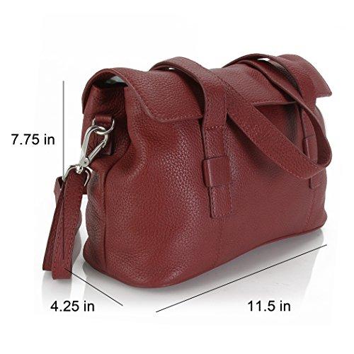 Bag Red Hadaki Hannah's Shoulder Deep 7wSTCpq
