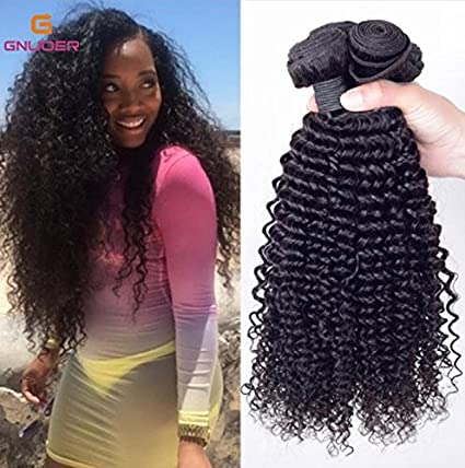 Amazon Com Haned Synthetic Kinky Curly Weave Hair Extensions For
