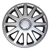 2009 toyota corolla s hubcaps - TuningPros WC-16-610-S 16-Inches-Silver Improved Hubcaps Wheel Skin Cover Set of 4