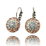 Mariana Moon Dance Silver Plated Circle Drop Earrings 1141 MOL361