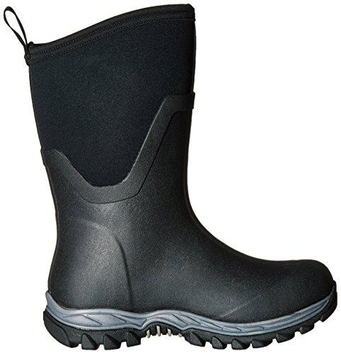 Muck Laarzen Damen Arctische Sport Ii Mid Gummistiefel Schwarz (zwart / Zwart)