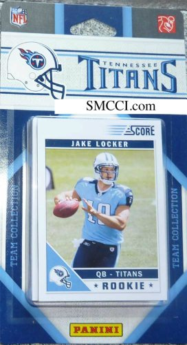 Tennessee Titans 2011 Score Team Set Tennessee Titans Set