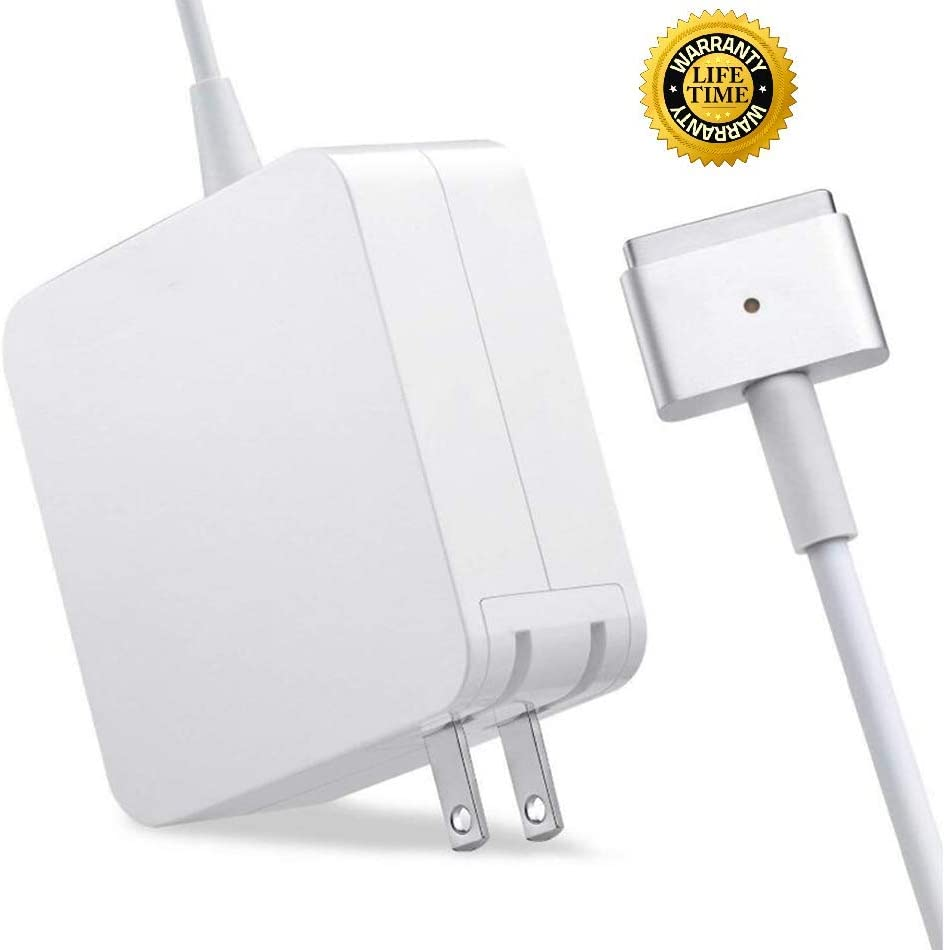 Mac Book Pro Charger, 85W MagSafe 2 Power Adapter T-Tip Adapter Charger Connector for MacBook Pro 15 Inch with Retina Display - (Late 2012 to 2015)