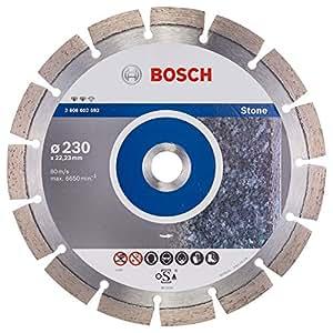 Bosch 2 608 602 592  - Disco de corte de diamante Expert for Stone - 230 x 22,23 x 2,4 x 12 mm (pack de 1)