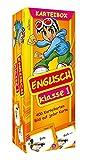 Karteibox Englisch Klasse 1: mit farbigen Karteikarten