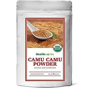 Healthworks Camu Camu Powder Organic, 8oz