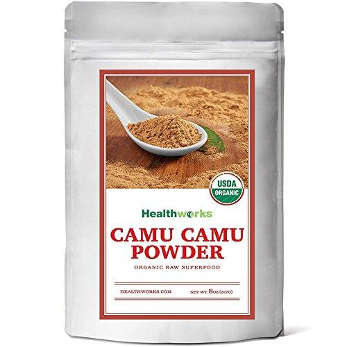 Healthworks Camu Camu Powder Organic, - Powder Camu