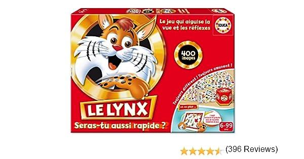 Educa Borras - 16042 - Jeu Daction et de Réflexe - Le Lynx 400 Avec Application: Amazon.es: Juguetes y juegos