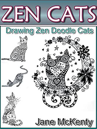 Zen cats drawing amazing zen doodle cats zen doodle art book 3 print list price 945 fandeluxe Image collections