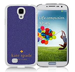 Unique And Beautiful Designed Kate Spade Samsung Galaxy S4 I9500 i337 M919 i545 r970 l720 White Phone Case 046