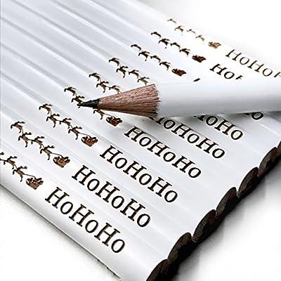 Schöne Geschenkideen Weihnachten.10x Edle Bleistifte Mit Gravur Schönes Geschenk Zu Weihnachten Hohoho