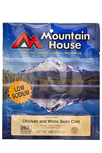 Mountain House, Chicken & White Bean - Chili Mountain House