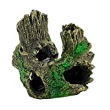 Artificial Resin Coral Floating Moss Stone Cave Wood for Fish Tank Aquarium Ornament Decoration