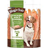 Reminding your dog how much you care about him and his well-being is simple when you give him the straightforward goodness found in Purina Waggin' Train Chicken Jerky Tenders adult dog treats. An easy — not to mention delicious — way to connect with ...