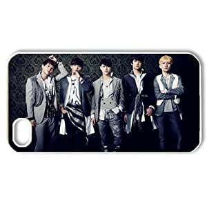 ByHeart shinee Hard Back Case Shell Cover Skin for Apple iPhone 4 and 4S - 1 Pack - Retail Packaging - 7191