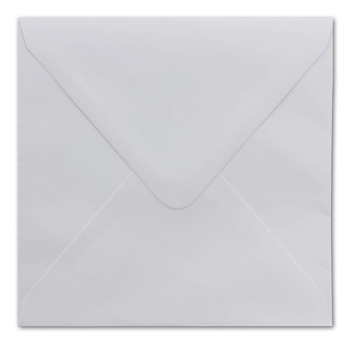 200 200 200 Quadratische Briefumschläge Weiß 14 x 14 cm 90 g m² Nassklebung Post-Umschläge ohne Fenster für Weihnachtskarten, Grußkarten & Einladungen B07J2N86LM | 2019  | Eleganter Stil  | Kostengünstiger  749f78