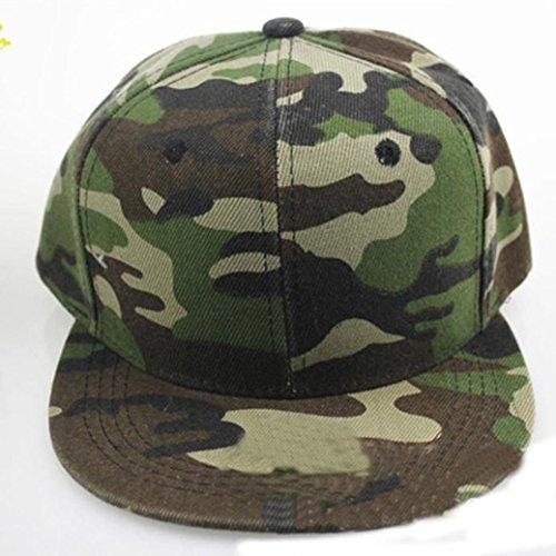 Béisbol Camuflaje Verde Gorra Sombrero de Mujeres Verde Gorra Hip Xinantime Hombres Hop FWvv4nZtY