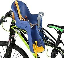Silla Delantera Bebé Niños para Bicicleta, Asiento Delantero con Agarradero. (Azul/Amarillo): Amazon.es: Deportes y aire libre