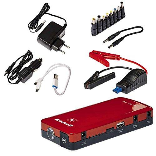 Einhell Auto-Starthilfe CC-JS 12 (3 x 3700 mAh, Starthilfe & Energiestation, mobile Stromversorgung, Ladezustandsanzeige, Sta