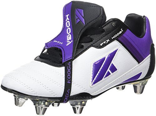 Kooga, Rugby-Schuhe Kinder Nuevo FTX LCST - Weiß/Mehrfarbig