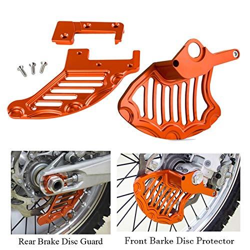 Front Rear Brake Disc Guard Protector For KTM 125 250 200 300 350 450 500 525 530 SXF EXC XCW SX XC MXC 2004-2011 2012 2013 2014 Deborah Daniel