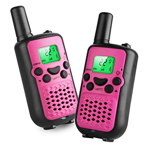 Kids Walkie Talkies, 22 Channel FRS/GMRS 2 Way Radio 2 Miles