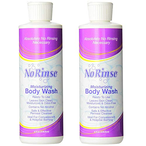 - No-Rinse Body Wash (2 Bottles), 8FL bottles