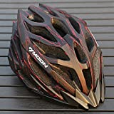 ZX MOON Cycling Black And Red PC/EPS 27 Vents Light Cycling Helmet , L